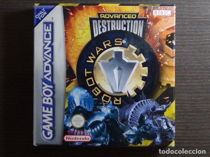 NINTENDO GAMEBOY ADVANCE - ROBOT WARS 1: ADVANCED DESTRUCTION (Juguetes - Videojuegos y Consolas - Nintendo - GameBoy Advance)