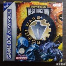 Videojuegos y Consolas: NINTENDO GAMEBOY ADVANCE - ROBOT WARS 1: ADVANCED DESTRUCTION . Lote 102064831