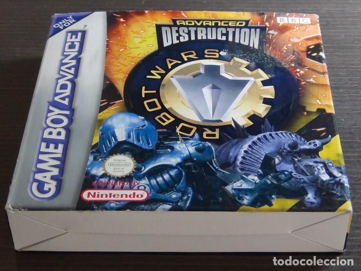 Videojuegos y Consolas: Nintendo GameBoy Advance - Robot Wars 1: Advanced Destruction - Foto 2 - 102064831