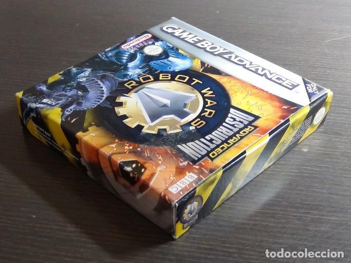 Videojuegos y Consolas: Nintendo GameBoy Advance - Robot Wars 1: Advanced Destruction - Foto 4 - 102064831