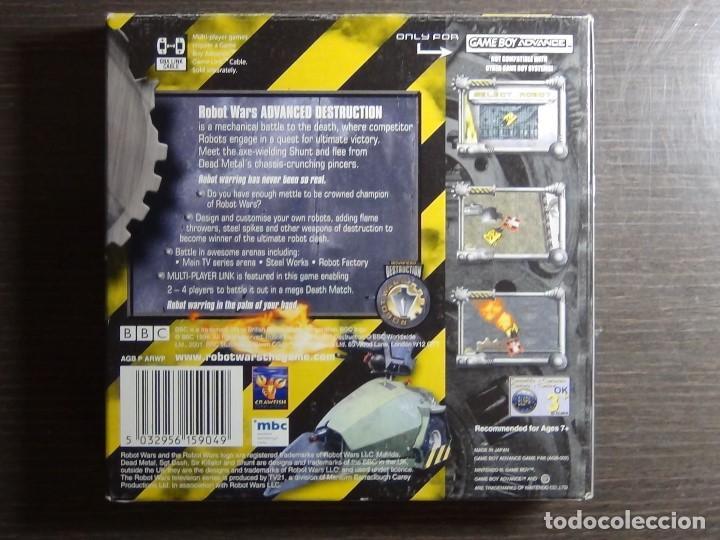 Videojuegos y Consolas: Nintendo GameBoy Advance - Robot Wars 1: Advanced Destruction - Foto 5 - 102064831