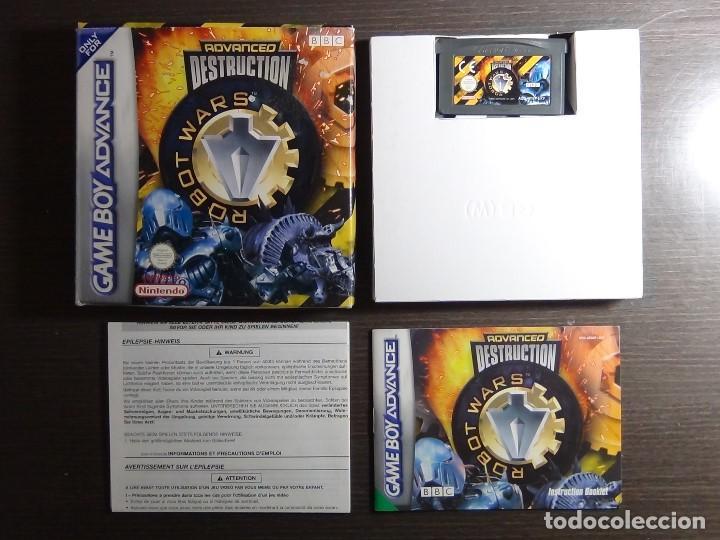 Videojuegos y Consolas: Nintendo GameBoy Advance - Robot Wars 1: Advanced Destruction - Foto 7 - 102064831