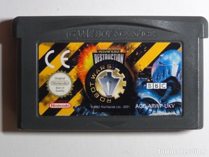 Videojuegos y Consolas: Nintendo GameBoy Advance - Robot Wars 1: Advanced Destruction - Foto 8 - 102064831