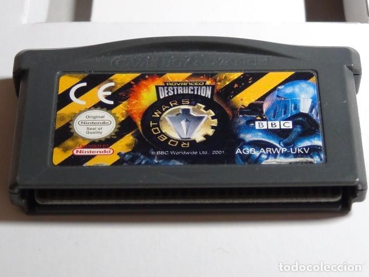 Videojuegos y Consolas: Nintendo GameBoy Advance - Robot Wars 1: Advanced Destruction - Foto 9 - 102064831
