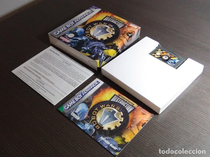 Videojuegos y Consolas: Nintendo GameBoy Advance - Robot Wars 1: Advanced Destruction - Foto 11 - 102064831