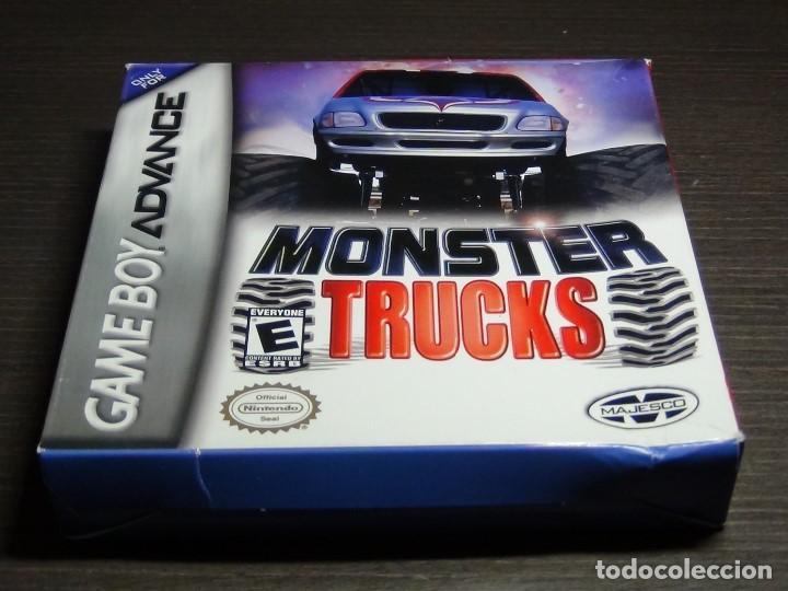 Videojuegos y Consolas: Nintendo Gameboy Advance juego-Monster Trucks - completo - Foto 2 - 102741727