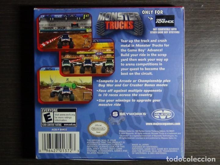 Videojuegos y Consolas: Nintendo Gameboy Advance juego-Monster Trucks - completo - Foto 4 - 102741727