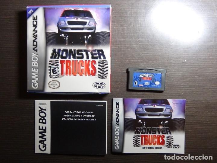 Videojuegos y Consolas: Nintendo Gameboy Advance juego-Monster Trucks - completo - Foto 6 - 102741727