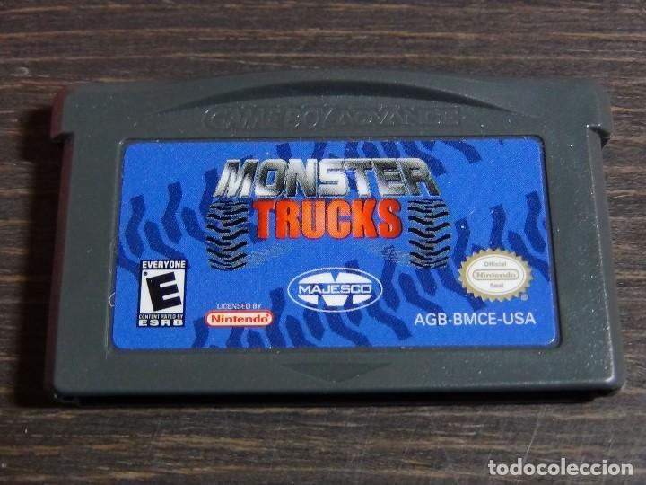 Videojuegos y Consolas: Nintendo Gameboy Advance juego-Monster Trucks - completo - Foto 7 - 102741727