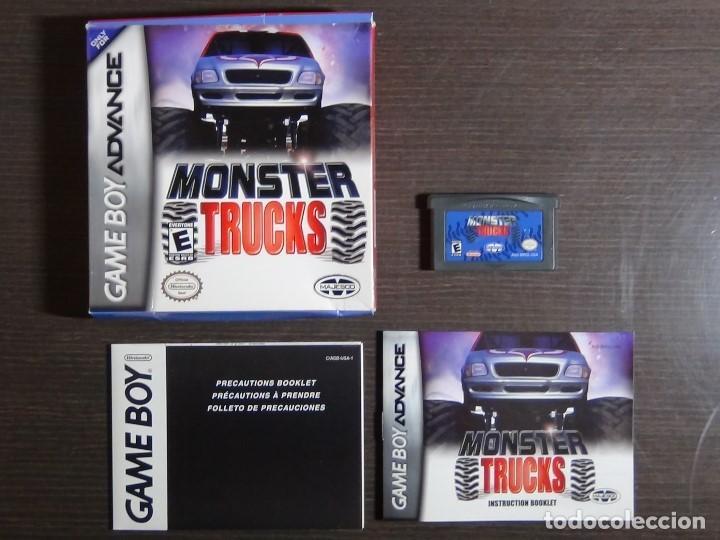 Videojuegos y Consolas: Nintendo Gameboy Advance juego-Monster Trucks - completo - Foto 8 - 102741727