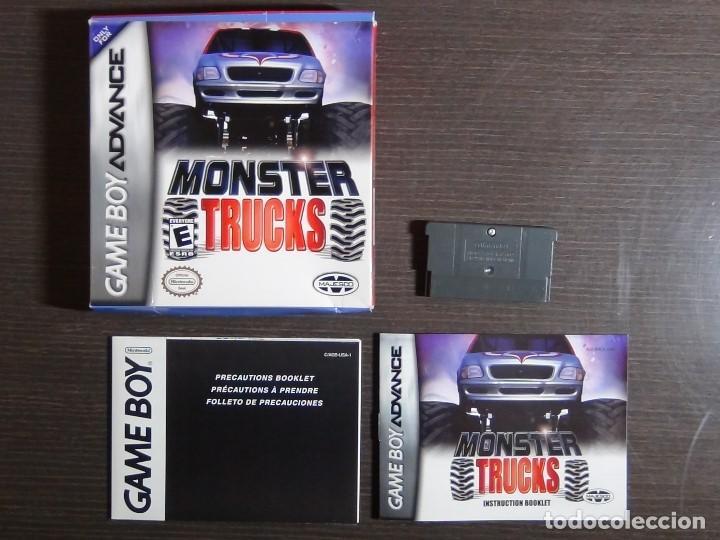 Videojuegos y Consolas: Nintendo Gameboy Advance juego-Monster Trucks - completo - Foto 9 - 102741727