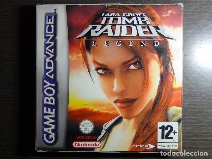 NINTENDO GAMEBOY ADVANCE JUEGO - LARA CROFT TOMB RAIDER LEGEND - COMPLETO (Juguetes - Videojuegos y Consolas - Nintendo - GameBoy Advance)