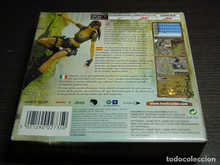Videojuegos y Consolas: Nintendo Gameboy Advance juego - LARA CROFT TOMB RAIDER LEGEND - completo - Foto 4 - 102741823