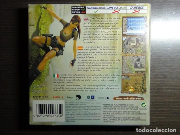 Videojuegos y Consolas: Nintendo Gameboy Advance juego - LARA CROFT TOMB RAIDER LEGEND - completo - Foto 5 - 102741823