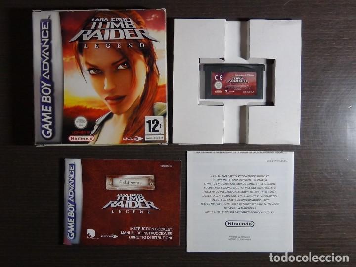 Videojuegos y Consolas: Nintendo Gameboy Advance juego - LARA CROFT TOMB RAIDER LEGEND - completo - Foto 6 - 102741823