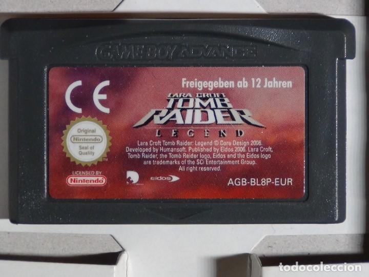 Videojuegos y Consolas: Nintendo Gameboy Advance juego - LARA CROFT TOMB RAIDER LEGEND - completo - Foto 7 - 102741823