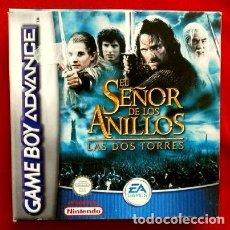 Videojuegos y Consolas: EL SEÑOR DE LOS ANILLOS - LAS DOS TORRES - JUEGO PARA GAME BOY ADVANCE - GAMEBOY COLOR. Lote 102952871