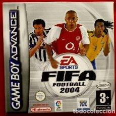 Videojuegos y Consolas: FIFA 2004 FOOTBALL - JUEGO PARA GAME BOY ADVANCE Y COLOR - TOTALMENTE EN CASTELLANO - GAMEBOY. Lote 102953083