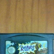 Videojuegos y Consolas: JUEGO RUGRATS AVENTURAS EN EL CASTILLO GBA GAME BOY ADVANCE. Lote 103389207