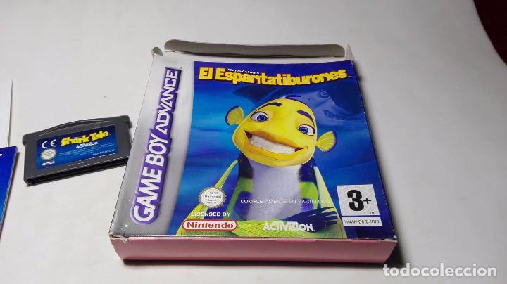 Videojuegos y Consolas: El Espantatiburones ( GAMEBOY ADVANCE) JC2 - Foto 2 - 103426119