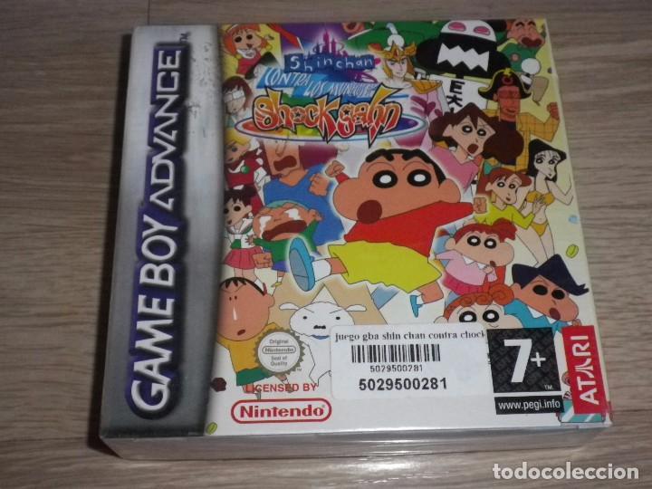 NINTENDO GBA SHINCHAN NUEVO VERSION ESPAÑOLA (Juguetes - Videojuegos y Consolas - Nintendo - GameBoy Advance)