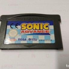Videojuegos y Consolas: JUEGO SONIC ADVANCE, PARA GAME BOY ADVANCE . Lote 104238643
