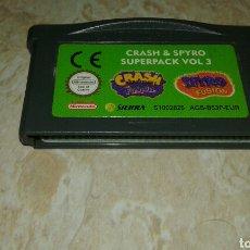 Videojuegos y Consolas: FANTASTICO VIDEO JUEGO G.B.A.-CRASH & SPYRO. Lote 104251424