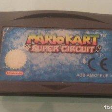 Videojuegos y Consolas: MARIO KART SUPER CIRCUIT PARA GAMEBOY ADVANCE. Lote 104288047