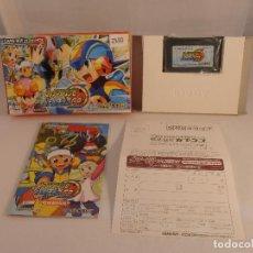 Videojuegos y Consolas: JUEGO MEGAMAN GP, CAJA E INSTRUCCIONES, NINTENDO GAMEBOY ADVANCE VERSION JAPONESA. Lote 104636739