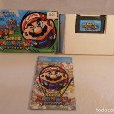 Videojuegos y Consolas: JUEGO SUPER MARIO BALL, CAJA E INSTRUCCIONES, NINTENDO GAMEBOY ADVANCE VERSION JAPONESA. Lote 104637495