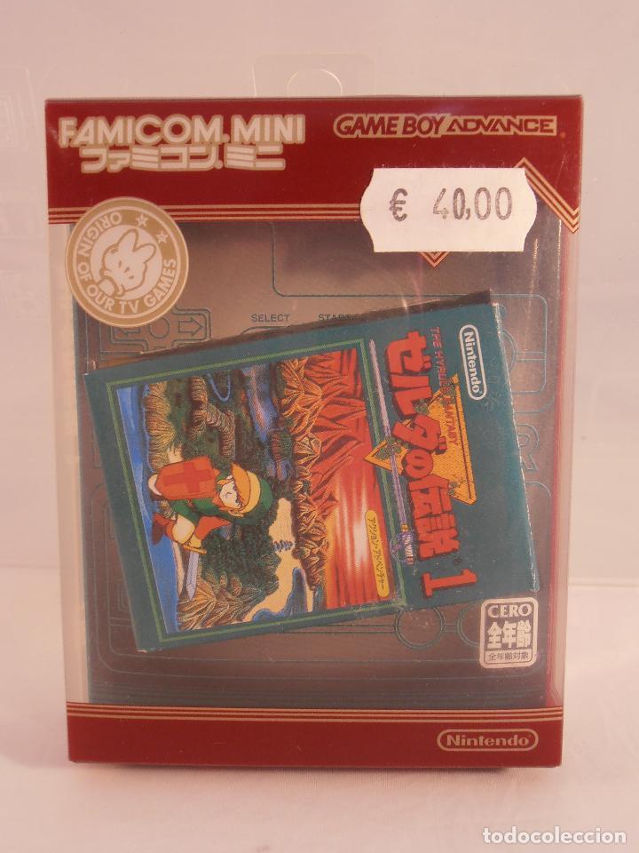 Juego Zelda Caja E Instrucciones Nintendo Gameboy Advance Coleccion Famicom Mini