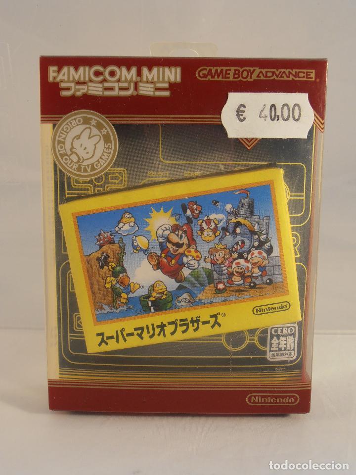 JUEGO SUPER MARIO BROS, CAJA E INSTRUCCIONES, NINTENDO GAMEBOY ADVANCE, COLECCION FAMICOM MINI (Juguetes - Videojuegos y Consolas - Nintendo - GameBoy Advance)