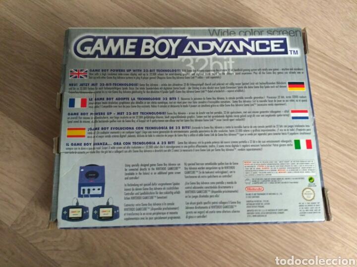 Videojuegos y Consolas: CONSOLA NINTENDO GAMEBOY ADVANCE COMPLETA VERSION ESPAÑOLA - Foto 3 - 57914447