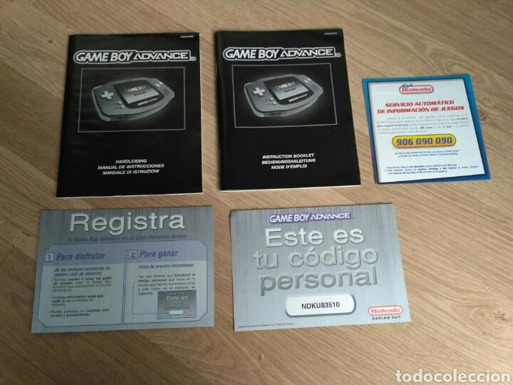 Videojuegos y Consolas: CONSOLA NINTENDO GAMEBOY ADVANCE COMPLETA VERSION ESPAÑOLA - Foto 6 - 57914447