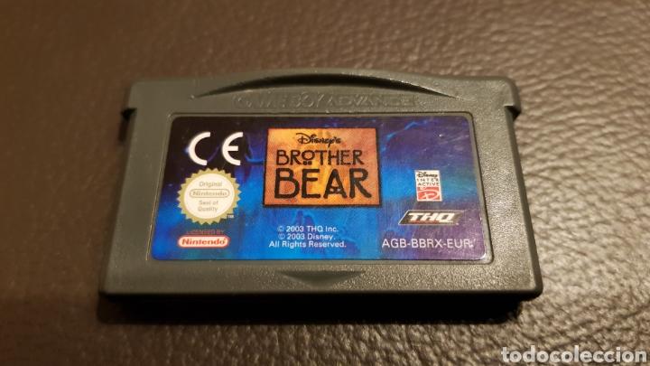 JUEGO NINTENDO GAMEBOY ADVANCE BROTHER BEAR HERMANO OSO (Juguetes - Videojuegos y Consolas - Nintendo - GameBoy Advance)