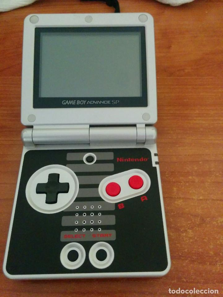 Videojuegos y Consolas: Consola gameboy advance SP NES CLASSIC EDITION con CARGADOR - Foto 3 - 107312227