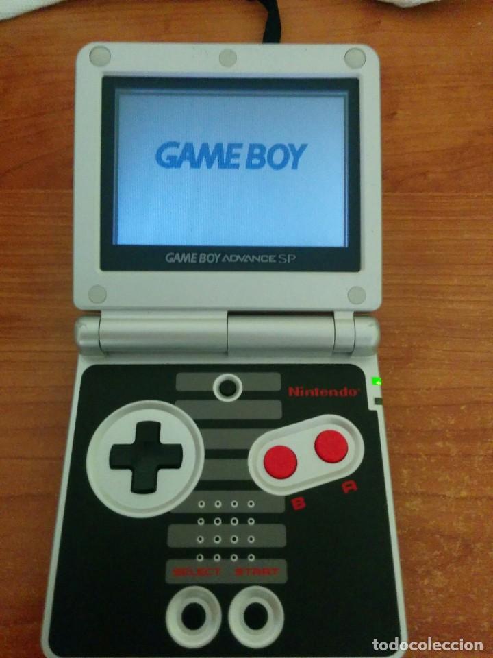 Videojuegos y Consolas: Consola gameboy advance SP NES CLASSIC EDITION con CARGADOR - Foto 4 - 107312227