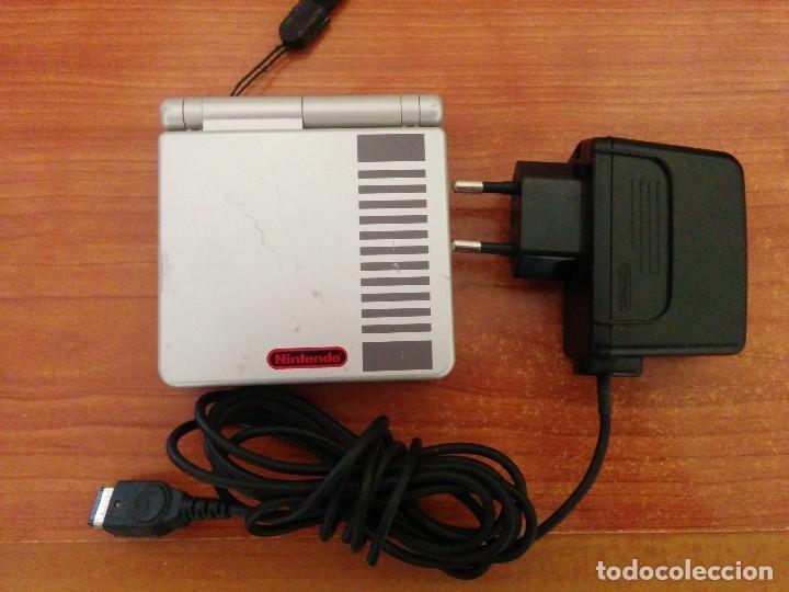 Videojuegos y Consolas: Consola gameboy advance SP NES CLASSIC EDITION con CARGADOR - Foto 5 - 107312227