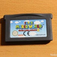 Videojuegos y Consolas: SUPER MARIO WORLD SUPER MARIO ADVANCE 2 GBA. Lote 107747479