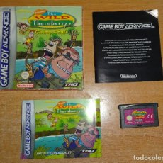 Videojuegos y Consolas: JUEGO GAME BOY ADVANCE GBA - THE WILD THONBERRYS CHIMP CHASE - COMPLETO - PAL ESPAÑA. Lote 107924723