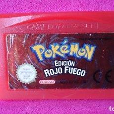 Videojuegos y Consolas: JUEGO NINTENDO GAME BOY GAMEBOY ADVANCE POKEMON EDICIÓN ROJO FUEGO. Lote 108701823