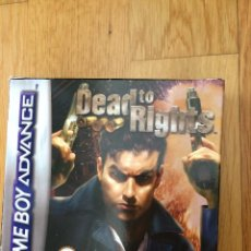 Videojuegos y Consolas: DEAD TO RIGHTS PARA GAME BOY ADVANCE- JUEGO. Lote 108733327