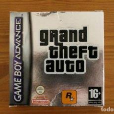 Videojuegos y Consolas: GAME BOY ADVANCE - CAJA GRAND THEFT AUTO - GBA. Lote 110003279