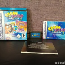 Videojuegos y Consolas: SUPER PACK CRASH Y SPYRO COMPLETO GAME BOY ADVANCE . Lote 110478135