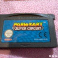 Videojuegos y Consolas: JUEGO NINTENDO GAMEBOY ADVANCE GBA MARIO KART SUPER CIRCUIT. Lote 111198143