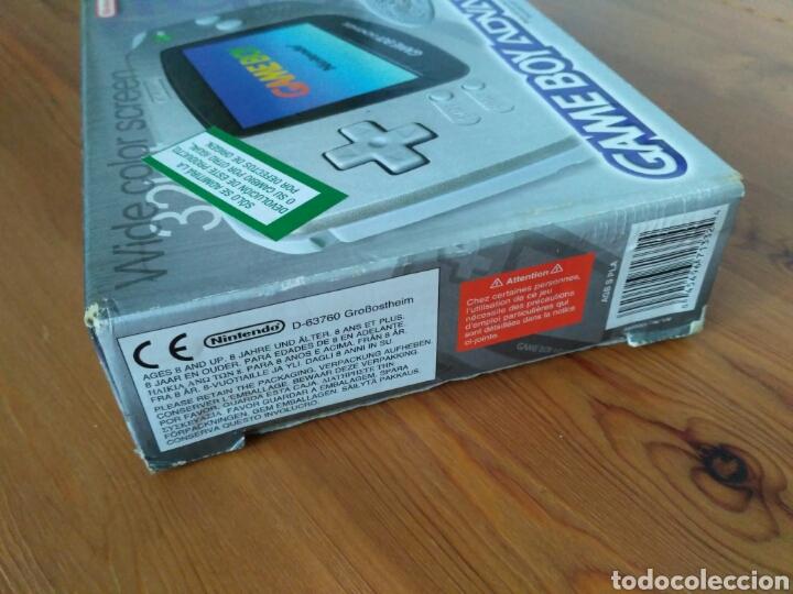 Videojuegos y Consolas: CONSOLA NINTENDO GBA EDICIÓN LIMITADA PLATINUM NUEVA - Foto 3 - 111304127