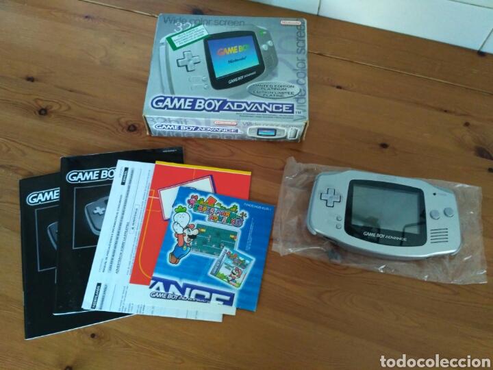 Videojuegos y Consolas: CONSOLA NINTENDO GBA EDICIÓN LIMITADA PLATINUM NUEVA - Foto 5 - 111304127