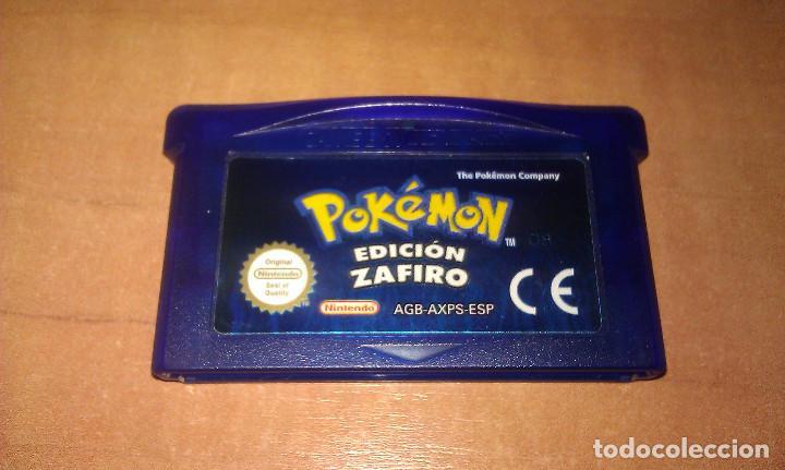 Juego Pokemon Edicion Zafiro Para Consola Ninte Comprar
