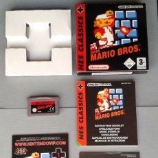 Videojuegos y Consolas: JUEGO GAME BOY ADVANCE GBA MARIO BROS NES CLASSICS COMPLETO BOXED CIB PAL R7322. Lote 115690379