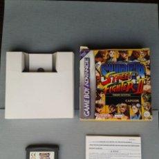 Videojuegos y Consolas: JUEGO GAME BOY ADVANCE GBA SUPER STREET FIGHTER II TURBO REVIVAL BOXED CIB PAL R7323. Lote 115690459